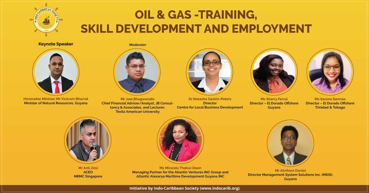 Webinar on oil and gas