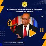 Albert Ramdin ICS webinar